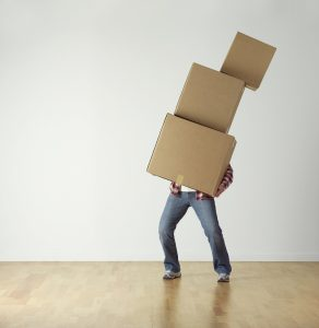 boxes-man holding boxes - packing.