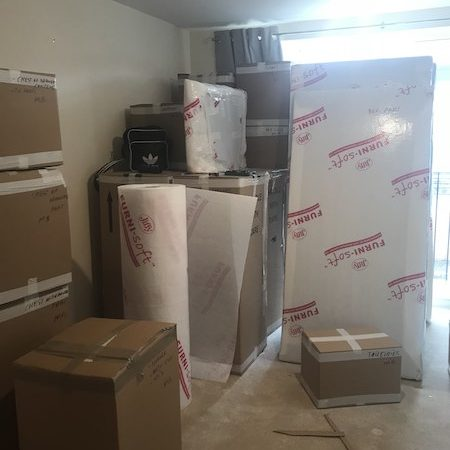 professional packing services in London - home removals