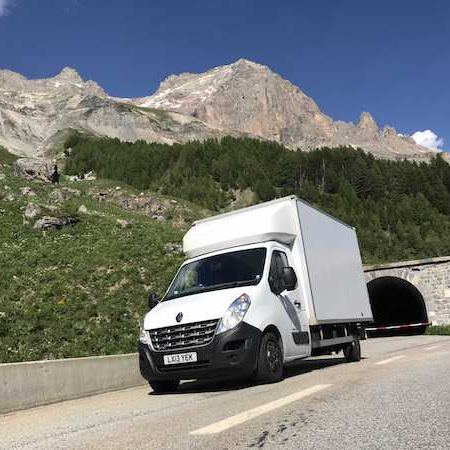 Man and Van - international removals services.