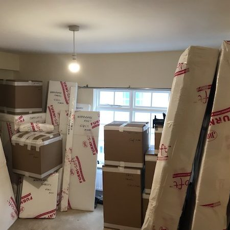 professional packing and unpacking - London moving services
