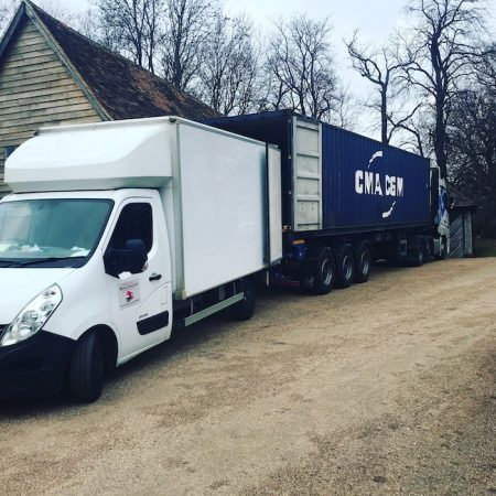 van or truck hire - London removals team hire