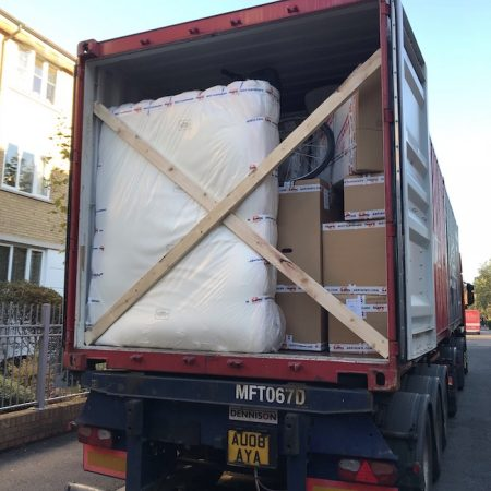 removals truck - local moving - long distance - door to door removals
