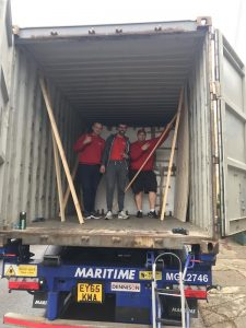 smart move london team on a removals truck