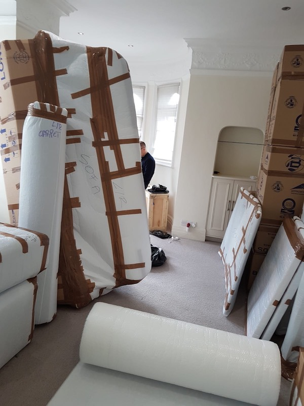 professional packing - movers - smart move london - man and van