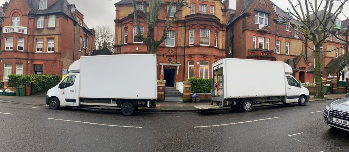 Moving professionals in London